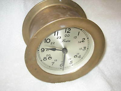 Boston Chelsea 4-1/2 Inch Brass Ship's Bell Clock