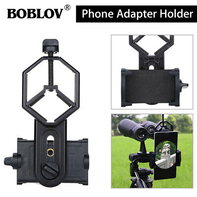 US Telescope Spotting Scope Microscope Mount Holder Mobile Phone Andriod Adapter