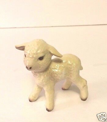 Sweet Little Vintage Goebel Lamb Figurine Germany Estate Find EUC