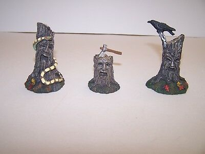 Dept 56 Snow Village Halloween   Scary Stumps  (Set Of 3)  Accessory