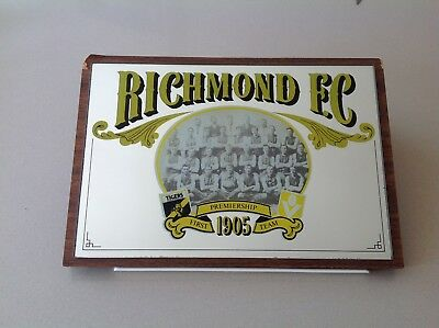 Richmond Football Club 1905 First Premiership Team Mirror