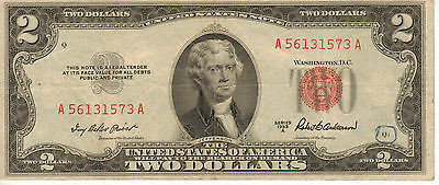 1953-A US Note, Red Seal, High Grade Note (R-198)