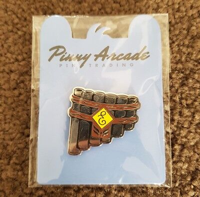 Pinny Arcade Talent Pipes Pin PAX Prime 2014 Name of the Wind Patrick Rothfuss