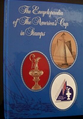 The Encyclopedia Of The Americas Cup In Stamps  Plus Solomon Island Stamps