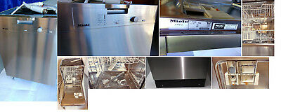 Dishwasher Miele built-under stainless steel