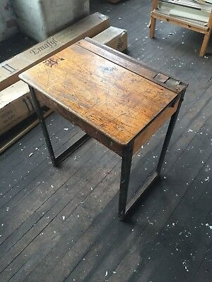 Vintage Retro School Desk
