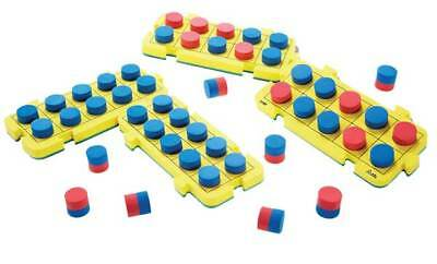 Tens Frame Numeration Board 44 pieces Maths Teacher Resource Kids Place Value