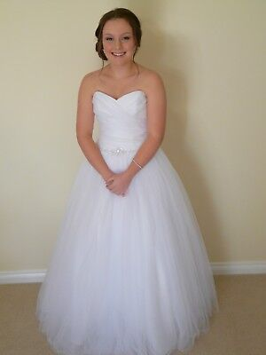 Deb/Debutante/Wedding Dress, Size 4-10