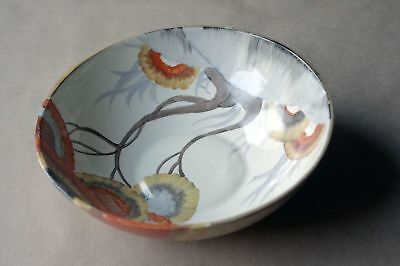 Clarice Cliff, Bizarre Rhodanthe design, art deco, beautiful hand painted bowl