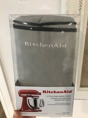 KitchenAid Stand Mixer Cover Silver Frost
