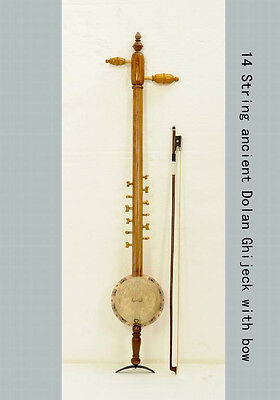 14 String High Quality Ancient Dolan Ghijeck W/bow