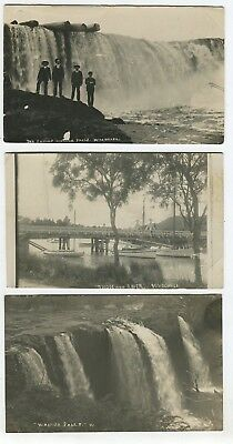 Six Whangarei New Zealand Vintage Photo Postcards Four By W.e. Winship