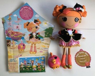 Lalaloopsy Dolls  ( PEGGY SEVEN SEAS ) Was Display Only
