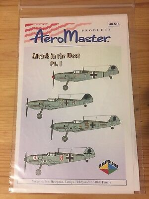 Aeromaster Decals 48-514 - Attack on the West Pt. I - 1/48
