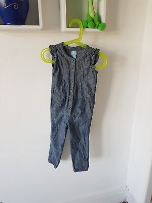 Girls Playsuit age 3 years BabyGAP Excellent Condition