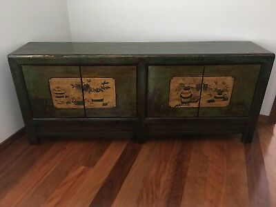 Antique Chinese Sideboard / Cabinet / Entertainment Unit