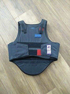 Justtogs body protector child large in excellent condition hardly used .