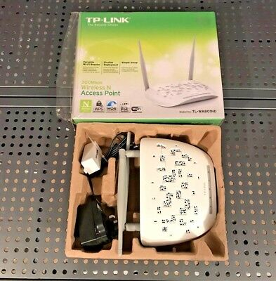 TP-LINK TL-WA801ND WiFi Access Point N300 WiFi Booster White 300 Mbps