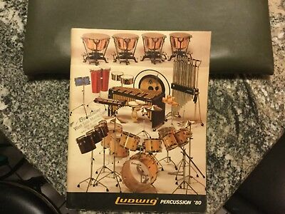 1980 Ludwig Drum Catalog In Super Condition!!!