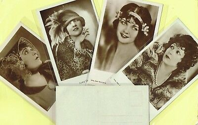 ROSS VERLAG - 1920s Film Star Postcards produced in Germany #1172 to #1244