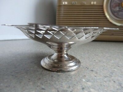 mappin and webb silver plated bon bon dishes