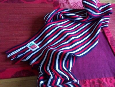 England Rugby Scarf, Official Canterbury Item