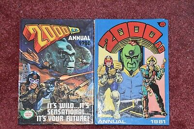 2000AD Annual 1980 and 1981