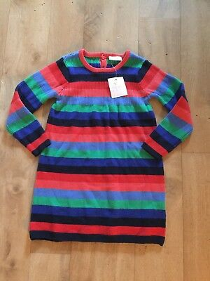 Bnwt Baby Girls Next Knitted Dress Age 18-24 Mths