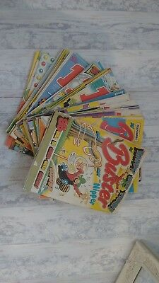 Lot of Buster comics, 1988 whole year.in excellent condition