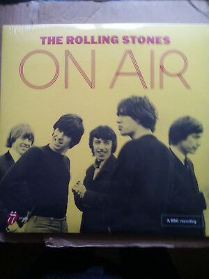 The Rolling Stones On Air Limited Edition Only 800 On Yellow Vinyl Mint