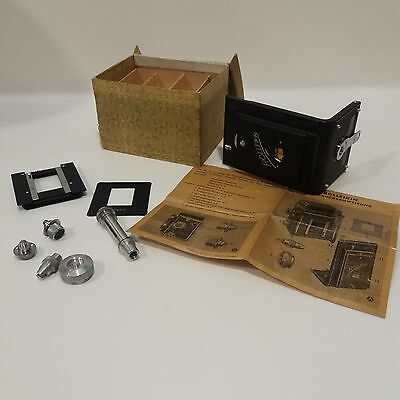 Rolleikin 35mm adapter kit for Rolleiflex or Rolleicord - Complete