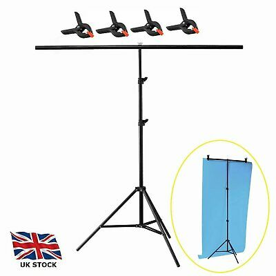 200*200cm Photography PVC Backdrop Background Large Support Stand System Metal