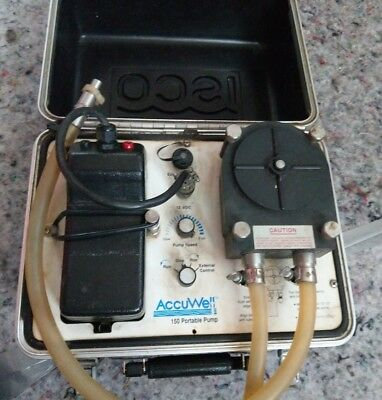 ISCO Accuwell 150 portable Pump