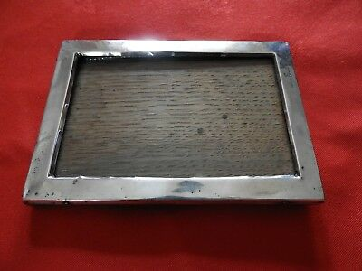 An Antique Silver Photograph Frame Dated 1918 - Hallmarked
