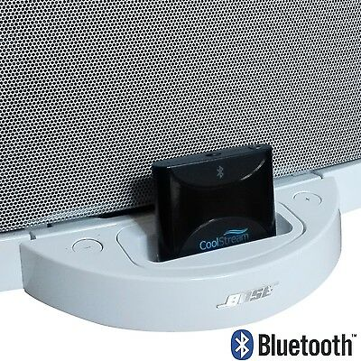 CoolStream Duo 30 Pin Bluetooth Adapter Receiver for all Bose SoundDock Models