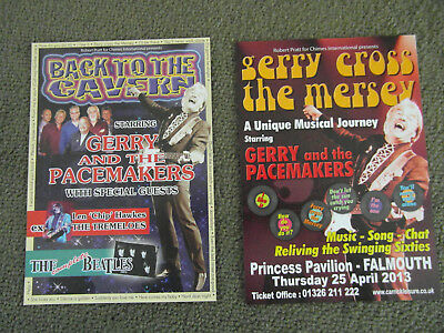 Gerry & The Pacemakers Flyers x 2
