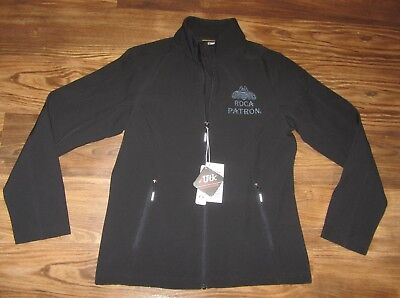 Roca Patron Tequila Women's Full-Zip Jacket, North End Core 365, Black, NEW