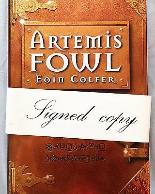 Artemis Fowl By Eoin Colfer, Signed First Edition