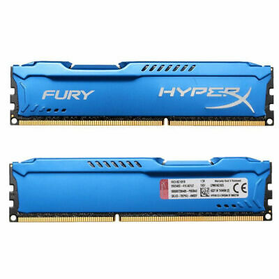 DDR3 16GB(2x8GB) Desktop 1600MHz PC3-12800 DIMM RAM For Kingston HyperX FURY