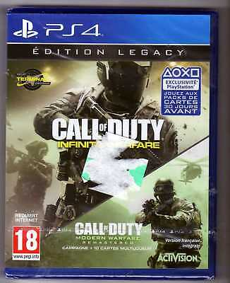 COD CALL OF DUTY infinite warfare modern warfare edition legacy PS4