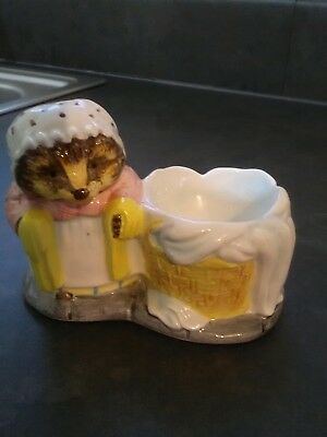 Beatrix potter Mrs Tiggy Winkle egg cup