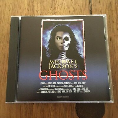 Michael Jackson Michael Jackson's GHOSTS Pic CD VCD Sony Music Asia (Not DVD)