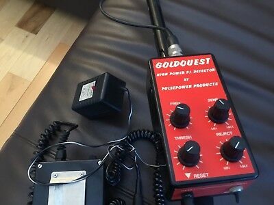 Goldquest High Power Pulse Induction Metal Detector