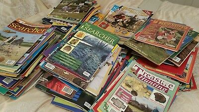Treasure Hunting and Searcher magazines.