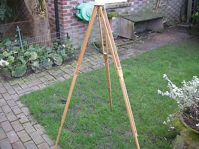 Wooden tripod - German made Extremely versatile & Super condition