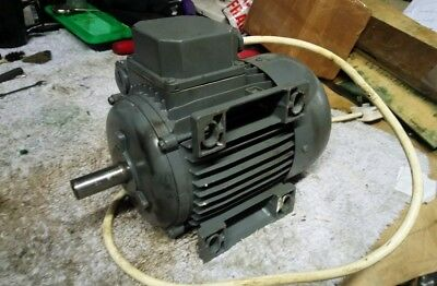 Clarke 1.5kw electric motor 240v mill saw drill lathe single phase
