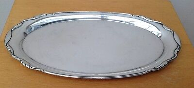 Antique W M F Silver Plated Drinks/ Calling Card Tray,