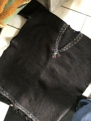 Authentic Indian Native American WOOL TYPE SHIRT/SWEATER