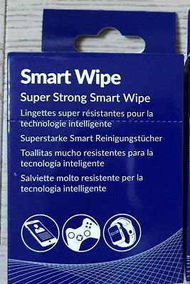 10 x AF duo Smart Wipes Super Strong for mobile phones watches consoles