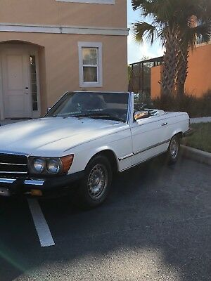1985 Mercedes-Benz SL-Class 380 SL ROADSTER WITH SOFTTOP & HARDTOP ~FAMILY~OWNED~SINCE~NEW~EURO~R107~1985~MERCEDES~380SL~ROADSTER~ALL~ORIGINAL